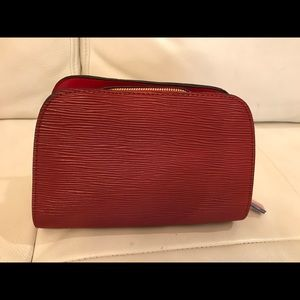 NEW Shiseido Red Cosmetic Bag🔥Free with$75 Sale🔥